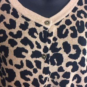 a new day Sweaters - A New Day Leopard Cardigan